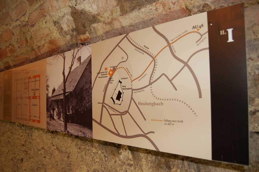 Grafikband zur Geschichte Neulengbachs