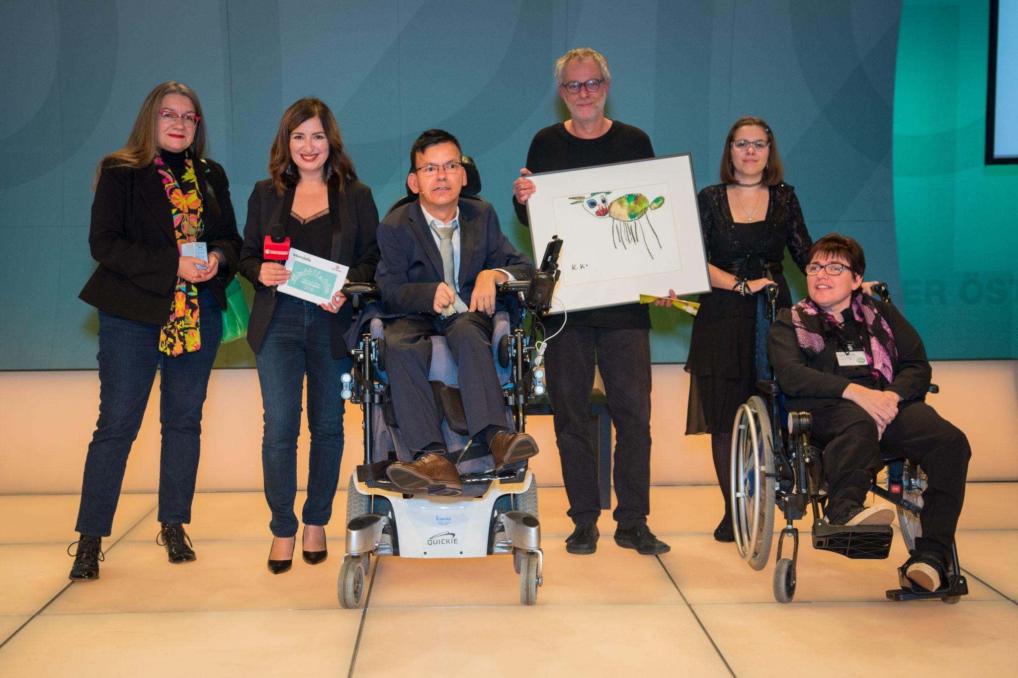 Verleihung Inklusionspreis 2018