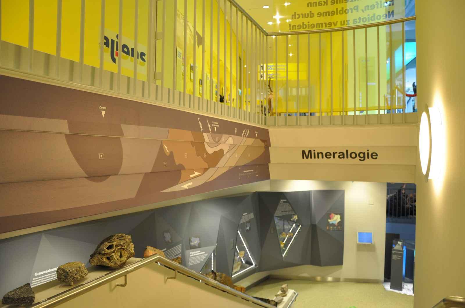 Abgang zur Mineralogie