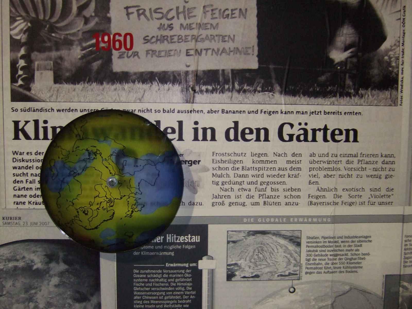 Fieberkurve des Planeten 1960
