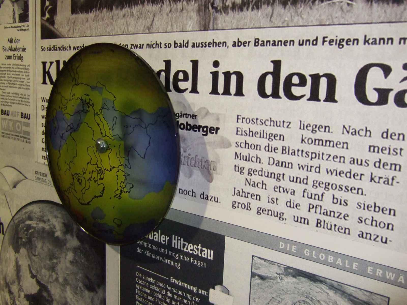Fieberkurve des Planeten Detail