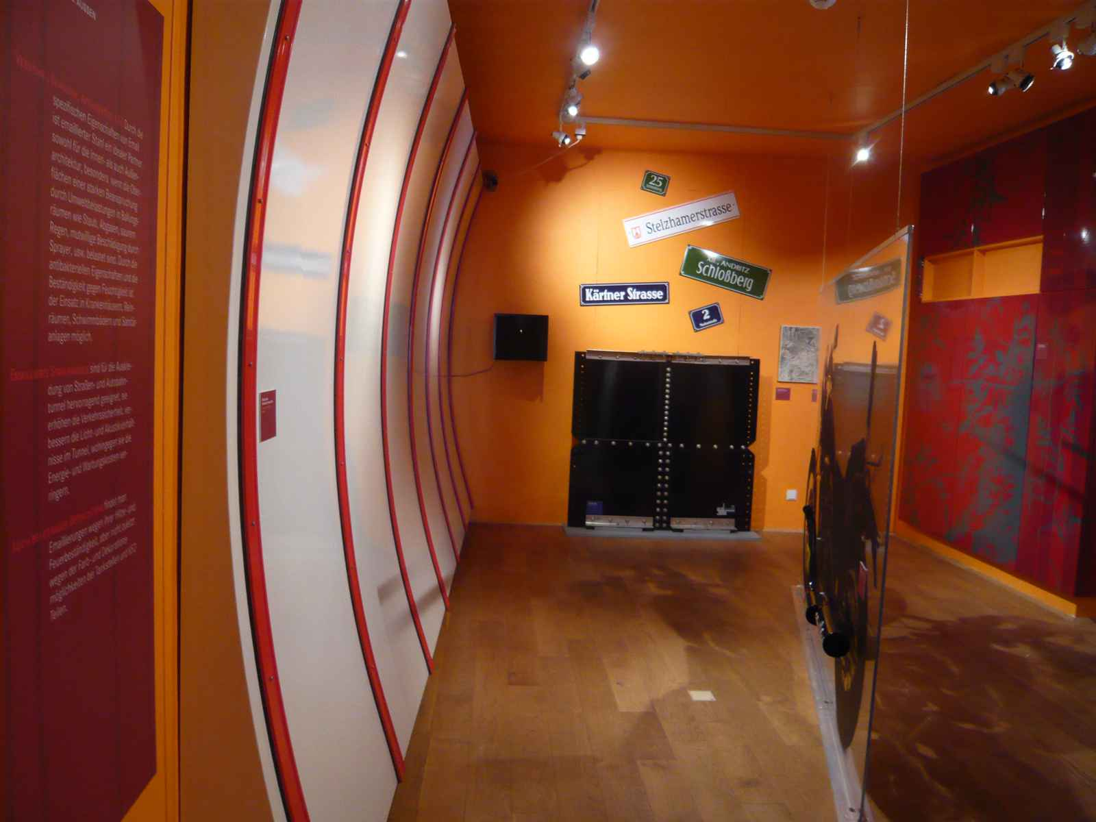 Tunnelwände