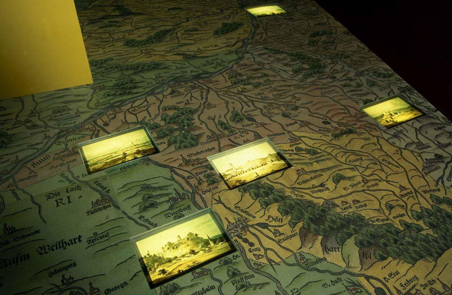 begehbare Landkarte